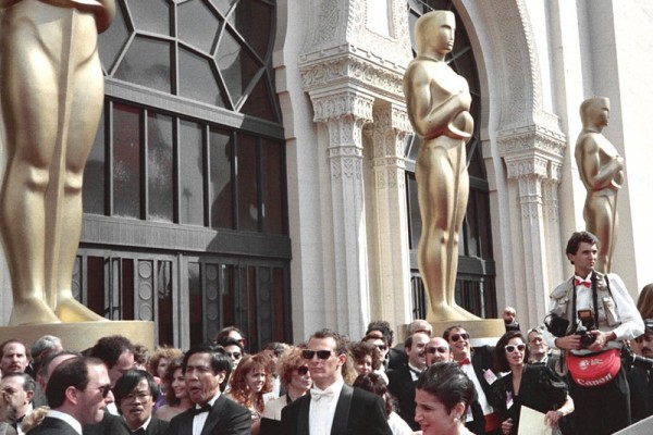 Oscars crowd