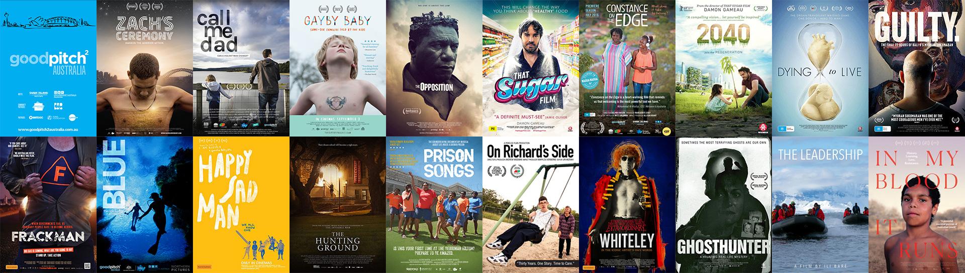 Good Pitch Australia Films